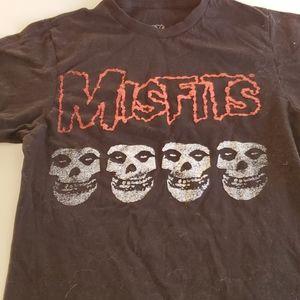 Misfits T t-shirt black size s